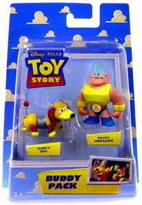 Disney / Pixar Toy Story Mini Figure Buddy 2-Pack Slinky Dog & Rocky Gibraltar