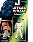 Star Wars POTF2 Power of the Force Photo Card Luke Skywalker in Stormtrooper Disguise  with Imperial Issue Blaster