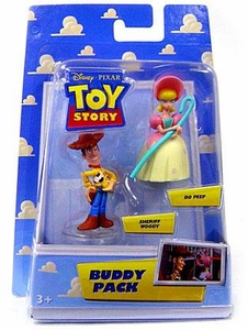 Disney / Pixar Toy Story Mini Figure Buddy 2-Pack Bo Peep & Sheriff Woody