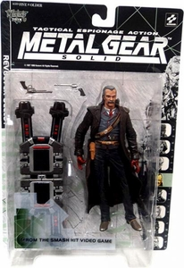 McFarlane Toys Metal Gear Solid Action Figure Revolver Ocelot
