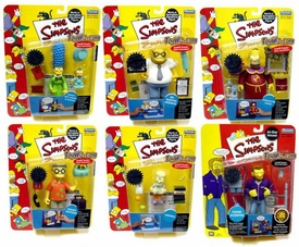 The Simpsons Series 10 Set of 6 Action Figures