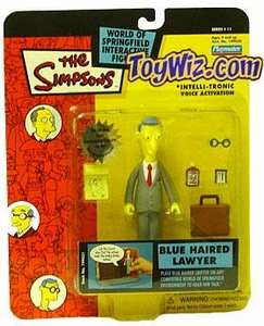 The Simpsons Series 11 Playmates Action Figure Blue Haired Lawyer