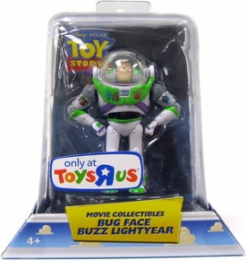 Disney / Pixar Toy Story Exclusive Movie Collectible Figure Bug Face Buzz Lightyear