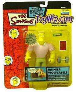 The Simpsons Series 11 Playmates Action Figure Rainier Wolfcastle