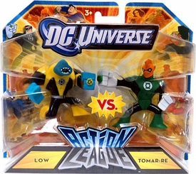 DC Universe Action League Mini Figure 2-Pack Low vs. Tomar-Re