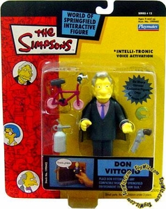 The Simpsons Series 12 Playmates Action Figure Don Vittorio