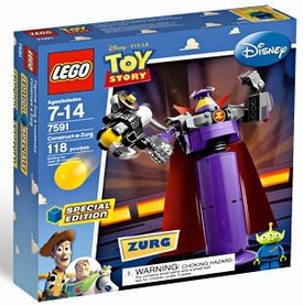 LEGO Disney Toy Story Exclusive Set #7591 Construct a Zurg