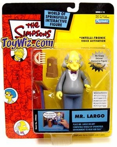 The Simpsons Series 12 Playmates Action Figure Mr. Largo