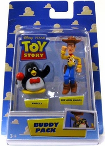 Disney / Pixar Toy Story Mini Figure Buddy 2-Pack Wheezy & Big Arm Woody