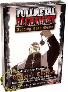 Fullmetal Alchemist Trading Card Game Premier Edition Starter Deck #4 Father Cornello