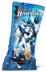 LEGO Bionicle BARRAKI Figure #8916 Takadox [Blue]