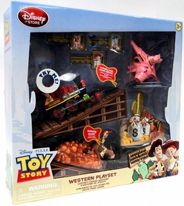 Disney & Pixar Toy Story Exclusive Woody's Roundup Western Playset