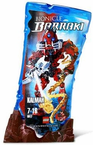 LEGO Bionicle BARRAKI Figure #8917 Kalmah [Red]
