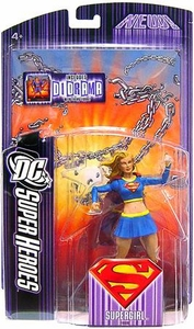 DC Super Heroes Mattel Select Sculpt Series 5 Action Figure Supergirl (Modern Costume)