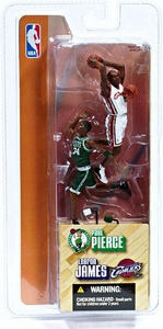 McFarlane Toys NBA 3 Inch Sports Picks Series 1 Mini Figures 2-Pack LeBron James (Cleveland Cavaliers) & Paul Pierce (Boston Celtics)