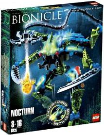 LEGO Bionicle Special Limited Edition Set #8935 Nocturn [Glows in the Dark!]