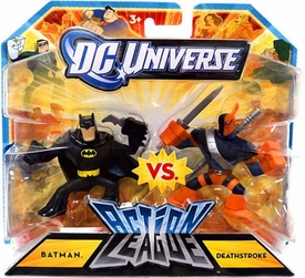 DC Universe Action League Mini Figure 2-Pack Batman Vs. Deathstroke