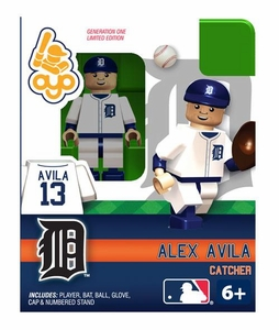 OYO Baseball MLB Building Brick Minifigure Alex Avila [Detroit Tigers]