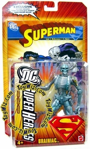 DC Superheroes Series 4 Action Figure Brainiac