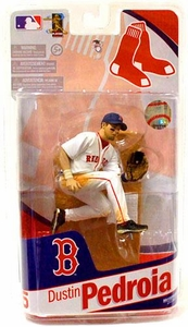 McFarlane Toys MLB Sports Picks 2010 Boston Red Sox Action Figure Dustin Pedroia