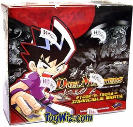 Duel Masters Card Game DM-06 Stomp-A-Trons Invincible Wrath Booster BOX [24 Packs]