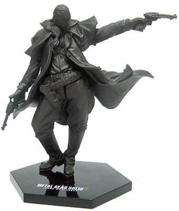 Metal Gear Solid Multi-Part PVC Art Statues Series 1 Revolver Ocelot (Non Painted Version)