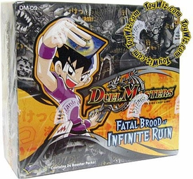 Duel Masters Card Game DM-09 Fatal Brood of Infinite Ruin Booster Box [24 Packs]