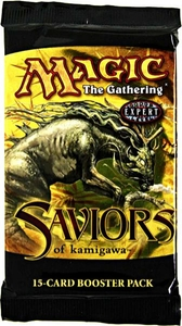 Magic the Gathering Saviors of Kamigawa Booster Pack [15 cards]
