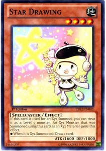 YuGiOh Zexal Cosmo Blazer Single Card Common CBLZ-EN043 Star Drawing