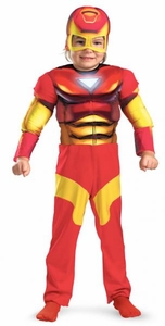 Iron Man Costume #11765 Iron Man Muscle Chest [Child] 2T ONLY!