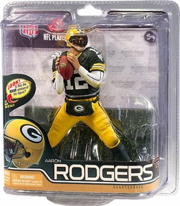 McFarlane Toys NFL Sports Picks Series 29 Action Figure Aaron Rodgers (Green Bay Packers) Green Jersey