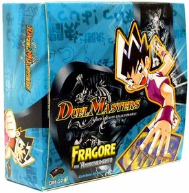 Duel Masters Card Game DM-07 Thundercharge of Ultra Destruction Booster Lot of 24 Packs [Italian]