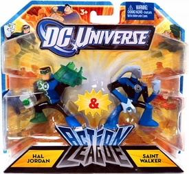 DC Universe Action League Mini Figure 2-Pack Hal Jordan & Saint Walker