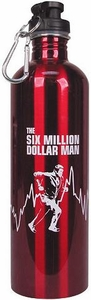 Bif Bang Pow! Six Million Dollar Man 750 ml Water Bottle
