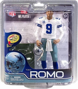 McFarlane Toys NFL Sports Picks Series 29 Action Figure Tony Romo (Dallas Cowboys) White Jersey