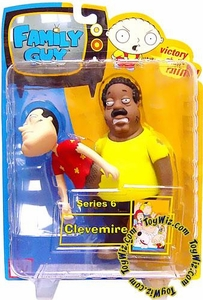 Family Guy Mezco Series 6 Action Figure Clevemire (Quagland)