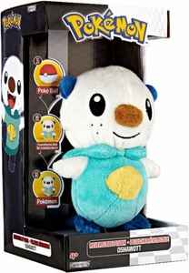 Pokemon Black & White Series 1 Deluxe Reversible Plush Figure Oshawott