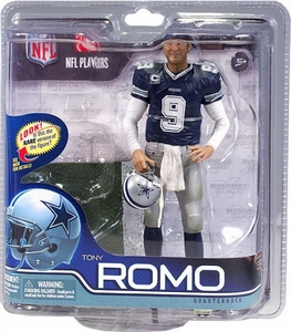 McFarlane Toys NFL Sports Picks Series 29 Action Figure Tony Romo (Dallas Cowboys) Blue Jersey Bronze Collector Level Chase Only 1,500 Made!