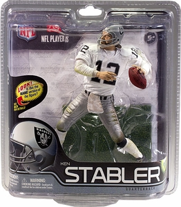 McFarlane Toys NFL Sports Picks Series 29 Action Figure Ken Stabler (Oakland Raiders) White Jersey Bronze Collector Level Chase Only 1,500 Made!