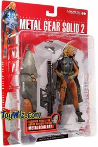McFarlane Metal Gear Solid 2 Sons of Liberty Fortune
