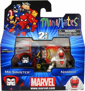 Marvel Minimates Series 41 Mini Figure 2-Pack Mr. Sinister & Nimrod