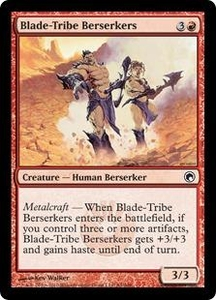 Magic the Gathering Scars of Mirrodin Single Card Common #84 Blade-Tribe Berserkers