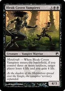 Magic the Gathering Scars of Mirrodin Single Card Common #55 Bleak Coven Vampires