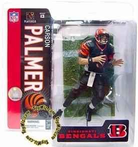 McFarlane Toys NFL Sports Picks Series 13 Action Figure Carson Palmer (Cincinnati Bengals) Black Jersey