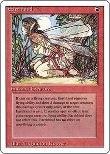 Magic the Gathering Revised Edition Single Card Common Earthbind