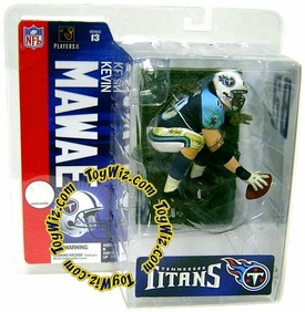 McFarlane Toys NFL Sports Picks Series 13 Exclusive Action Figure Kevin Mawae (Tennessee Titans) Chase Piece