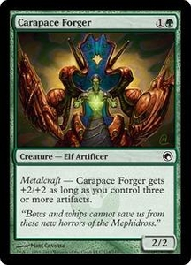 Magic the Gathering Scars of Mirrodin Single Card Common #114 Carapace Forger