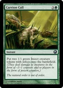 Magic the Gathering Scars of Mirrodin Single Card Uncommon #115 Carrion Call