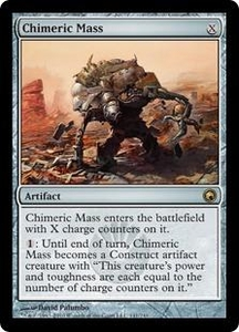 Magic the Gathering Scars of Mirrodin Single Card Rare #141 Chimeric Mass