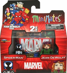 Marvel MiniMates Series 43 Mini Figure 2-Pack Spider-Man & Jean DeWolff